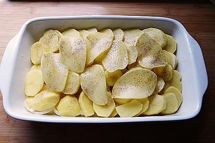 Kartoffelgratin 9