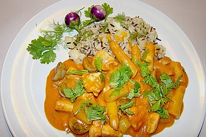 Grünes Hühner - Curry 0