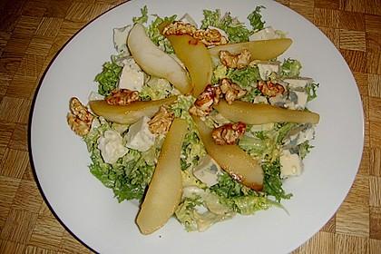 Birnensalat mit Nüssen 7