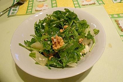 Birnensalat mit Nüssen 4