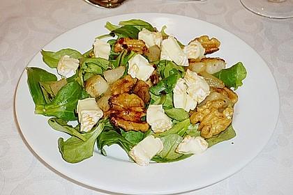 Birnensalat mit Nüssen 2