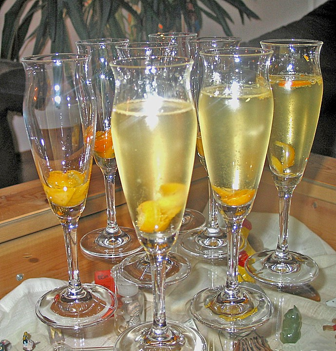 Kumquat - Sekt - Cocktail von SteffyPeter | Chefkoch.de