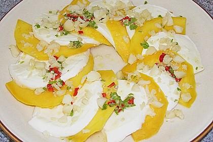 Mango mit Mozzarella 12