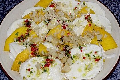 Mango mit Mozzarella 10