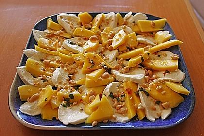Mango mit Mozzarella 5