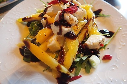 Mango mit Mozzarella 2