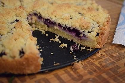 Pudding - Streusel - Kuchen