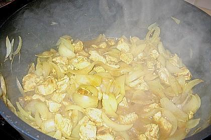 Puten - Currygulasch 3