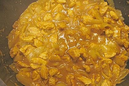 Puten - Currygulasch 1