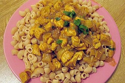 Puten - Currygulasch