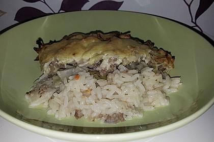 Weißkraut - Reis - Hackfleischauflauf 5