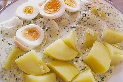 Eier in Senfsosse 1