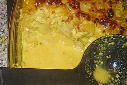 Curry - Filet mit Früchten 12
