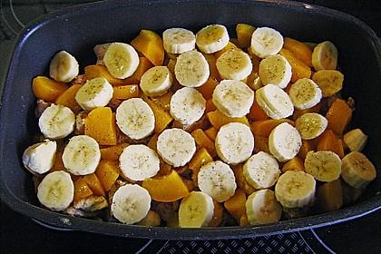 Curry - Filet mit Früchten 7