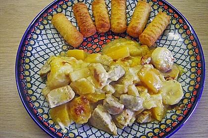 Curry - Filet mit Früchten 6