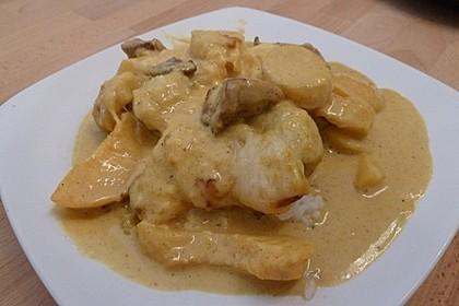 Curry - Filet mit Früchten 10
