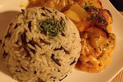 Curry - Filet mit Früchten 4