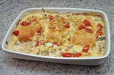 Meeresfrüchte - Lasagne