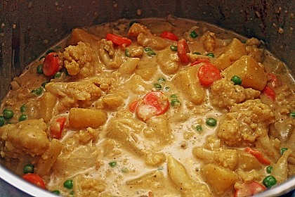 Würziges Blumenkohlcurry 7