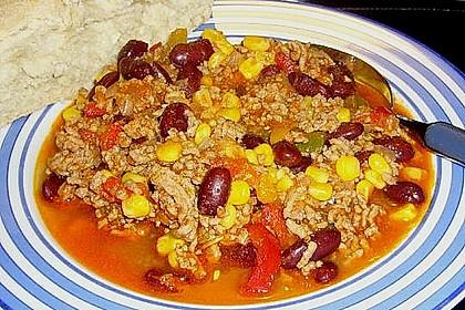 Buntes Chili con carne 18