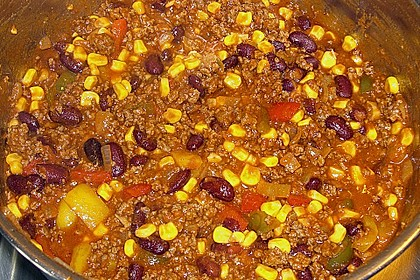 Buntes Chili con carne 16