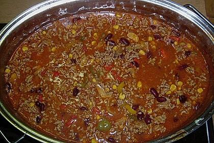Buntes Chili con carne 20