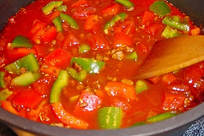 Buntes Chili con carne 38