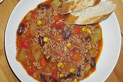 Buntes Chili con carne 15