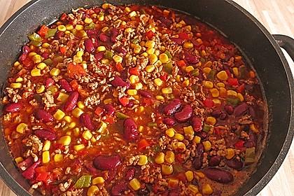 Buntes Chili con carne 0