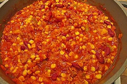 Buntes Chili con carne 36