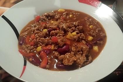 Buntes Chili con carne