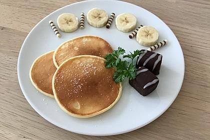 Amerikanische Buttermilch Pfannkuchen 1