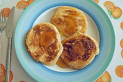 Amerikanische Buttermilch Pfannkuchen 13
