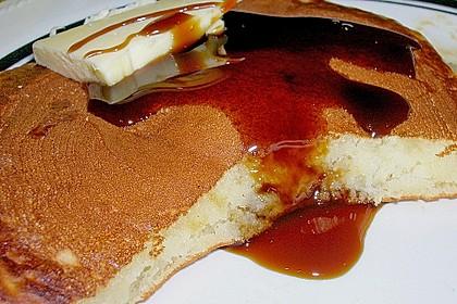 Amerikanische Buttermilch Pfannkuchen 8
