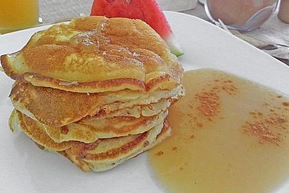 Amerikanische Buttermilch Pfannkuchen 12