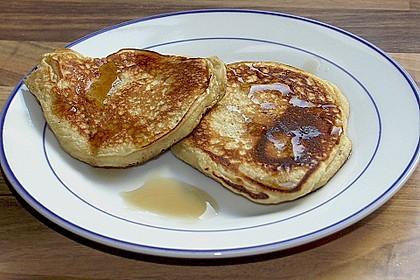 Amerikanische Buttermilch Pfannkuchen 10