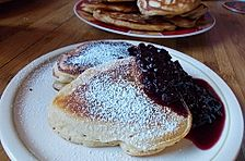Amerikanische Buttermilch - Pfannkuchen