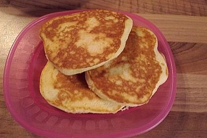 Amerikanische Buttermilch Pfannkuchen 16