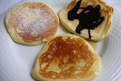 Amerikanische Buttermilch Pfannkuchen 7