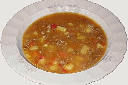 Serbische Kartoffelsuppe 14