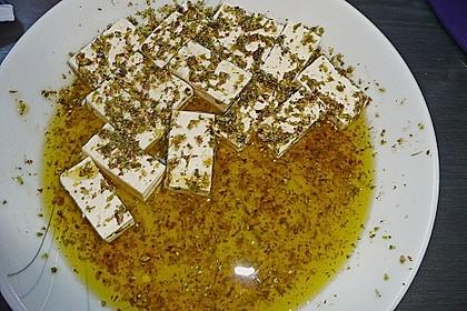 Zucchini - Käse - Spieße 40