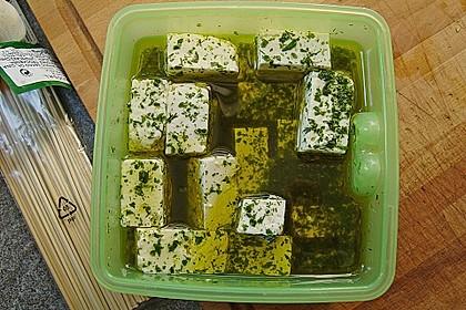 Zucchini - Käse - Spieße 37