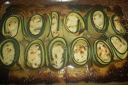 Zucchini - Käse - Spieße 32