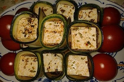 Zucchini - Käse - Spieße 33