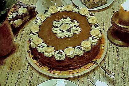 Banana - Split - Torte 6
