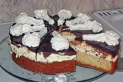 Banana - Split - Torte