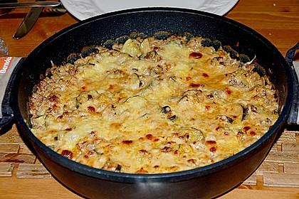 Zucchini - Auflauf 7