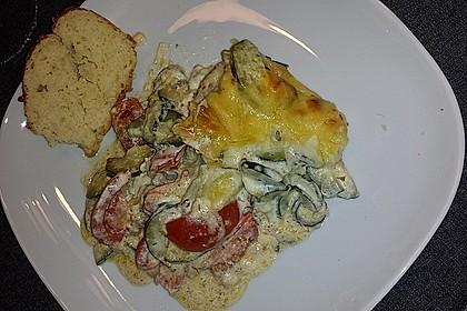 Zucchini - Auflauf 4