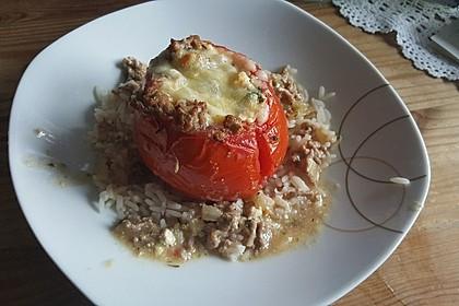 Gefüllte Tomaten mit Hackfleisch 6