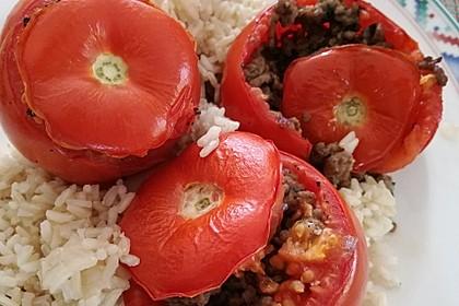 Gefüllte Tomaten mit Hackfleisch 7